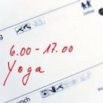 Zeit für Yoga