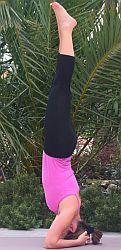 Yogauebung-Kopfstand-Sirsasana