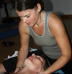 Savasana-Massage
