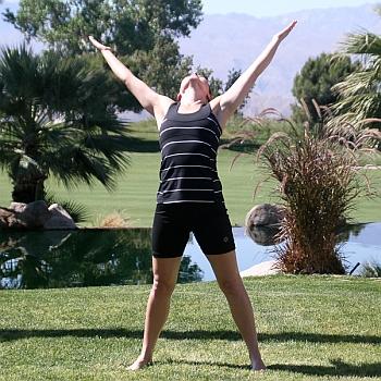 Yoga-Uebung-Variation-Urdhva Hastasana