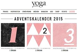 Yoga-Journal-Adventskalender