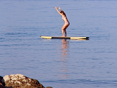 SUP-Yoga-Utkatasana