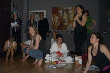Yoga-Schüler