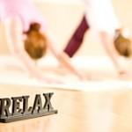 Mit Yoga Relaxen