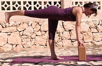 Yoga-Übung Krieger-3, Virabhadrasana 3