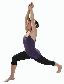 Yoga-Übung-Lunge