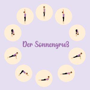 Yoga Sonnengruss A