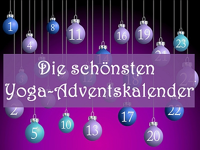Die schoensten Yoga-Adventskalender