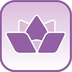Symbol-Lotosblüte