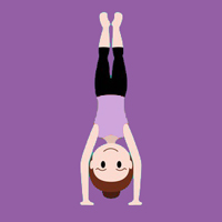 Handstand-Icon