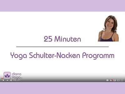 Yoga-Video Schulter/Nacken
