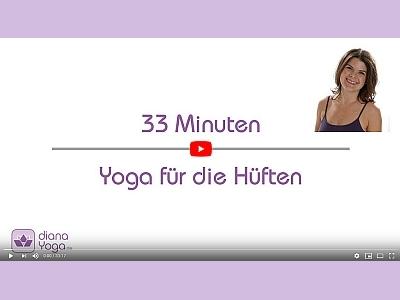 Yoga-Video für die Hüften