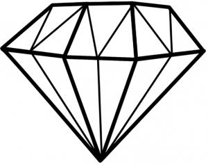 Diamant-Symbol