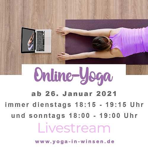 Online-Yoga live mit Diana Rick